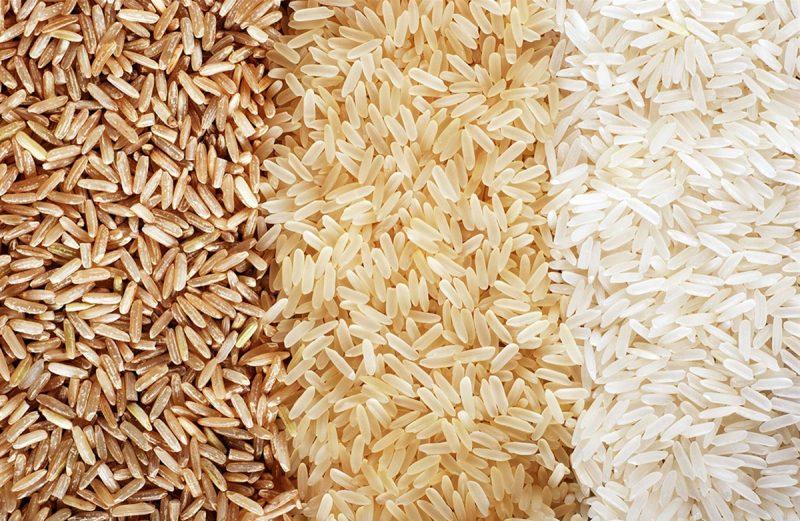 تفوت برنج ایرانی و هندی