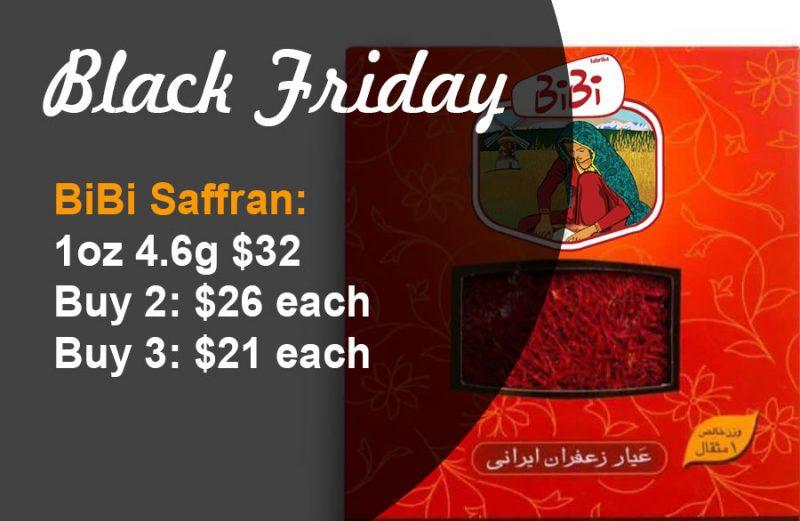 Balck Friday: BiBi Saffron 1oz 4.6g